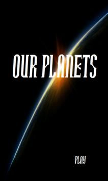 Solar System - Our Planets poster