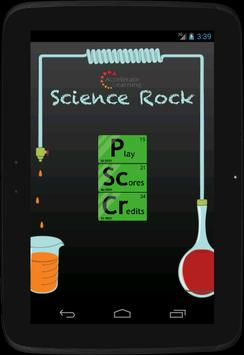 Science Rock poster