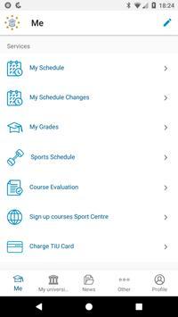 iStudent TiU screenshot 1