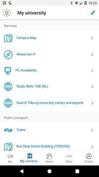 iStudent TiU screenshot 2