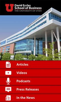 Eccles School of Business apk screenshot