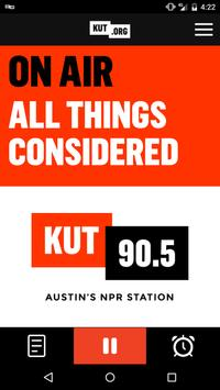 KUT 90.5 Austin's NPR Station poster