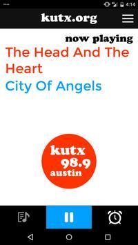 KUTX 98.9 poster