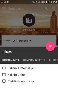 Texas MBA Career Fairs apk screenshot