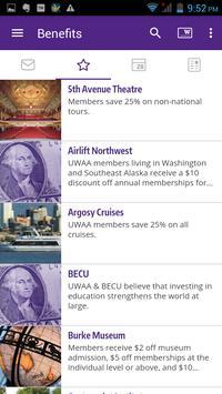 UW Alumni Association apk screenshot