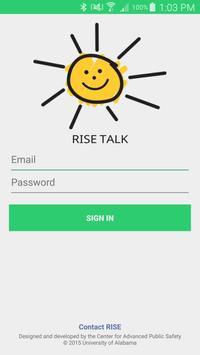 RISE Talk poster