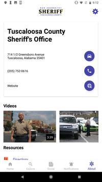 Tuscaloosa County Sheriff apk screenshot