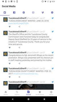 Tuscaloosa County Sheriff screenshot 5