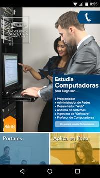 UAA App poster