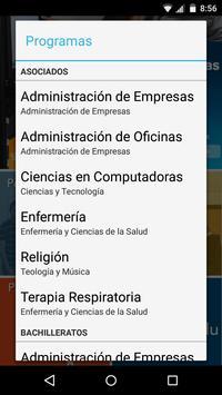 UAA App screenshot 1