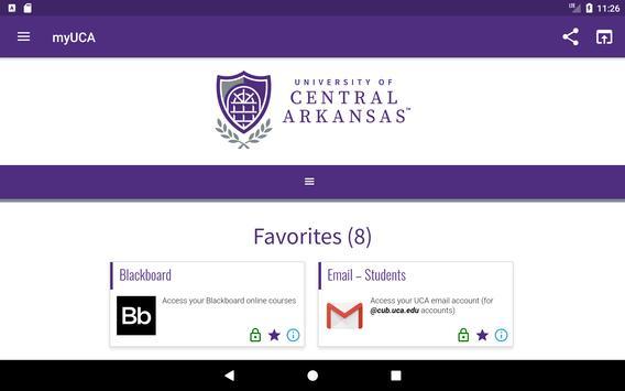 University of Central Arkansas screenshot 14
