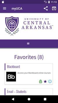 University of Central Arkansas screenshot 4