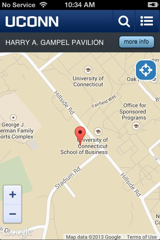 Uconn Storrs Campus Map For Android Apk Download