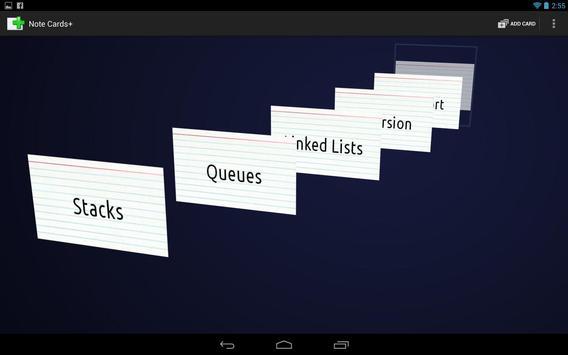 Note Cards+ screenshot 1