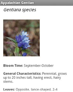 Native Plants of North Georgia apk screenshot
