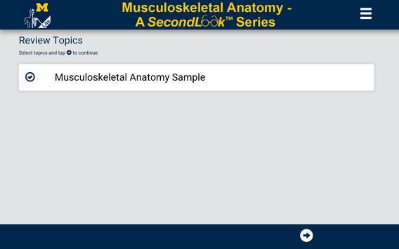 MSK Anatomy Lite - SecondLook poster