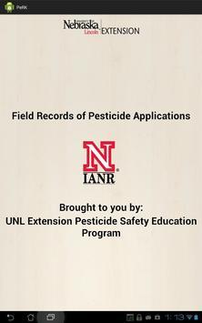 Pesticide Recordkeeping (PeRK) poster
