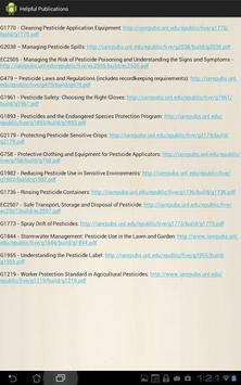 Pesticide Recordkeeping (PeRK) apk screenshot
