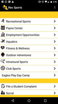 Southern Miss Rec. Sports poster
