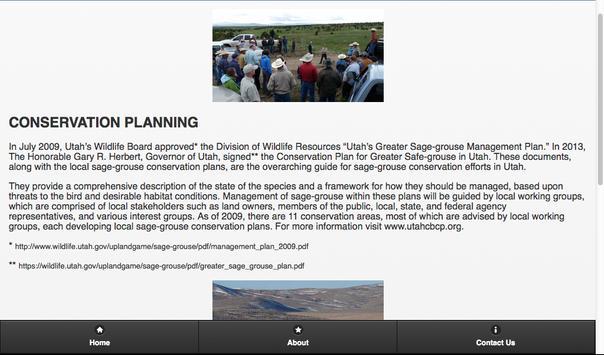 The Sage-Grouse in Utah screenshot 4