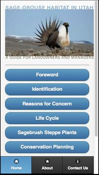 The Sage-Grouse in Utah poster