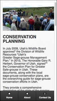 The Sage-Grouse in Utah apk screenshot