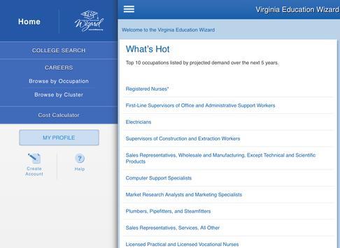 Virginia Education Wizard apk screenshot