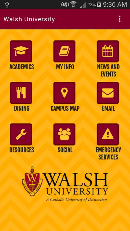 Walsh Campus Map.Walsh University App For Android Apk Download