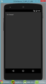 HelloAndroid poster
