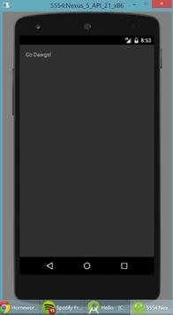 HelloAndroid apk screenshot
