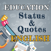 Education Status & Quotes New icon