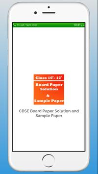 CBSE Board Paper with Solution, CBSE Sample Paper poster