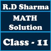 RD Sharma Class 11 Math Solution icon