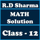 RD Sharma Class 12 Math Solution icon