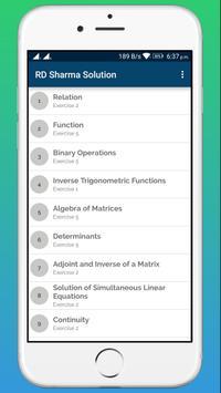 RD Sharma Class 12 Math Solution screenshot 1