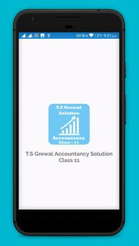 TS Grewal Accountancy Solution Class 11 OFFLINE poster