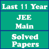 JEE MAIN Solved Papers - Last 11 Years icon
