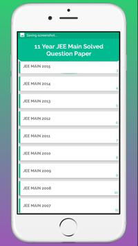JEE MAIN Solved Papers - Last 11 Years screenshot 2