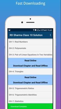 RD Sharma Class 10 Math Solution screenshot 3