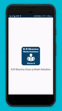 RD Sharma Class 9 Math Solution poster