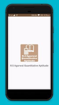 RS Aggarwal Quantitative Aptitude OFFLINE poster