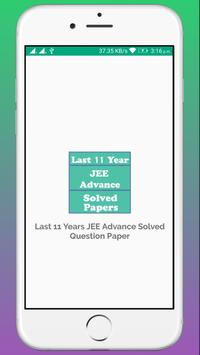 JEE Advance Solved Paper - Last 11 Years poster