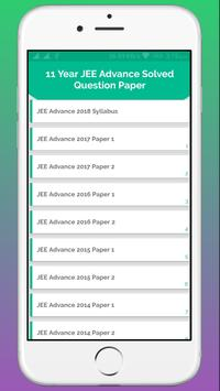 JEE Advance Solved Paper - Last 11 Years screenshot 2