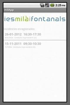 milApp apk screenshot