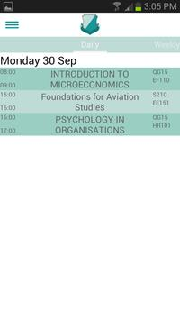 Clever Campus: DCU Timetable screenshot 3