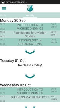 Clever Campus: DCU Timetable screenshot 4