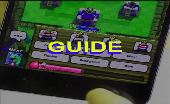 guide for clash royale apk screenshot