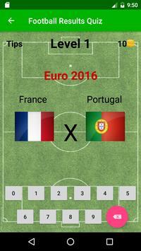 Football Results Quiz screenshot 1