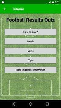 Football Results Quiz screenshot 3