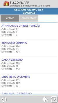 SI.SCO Packing LIST APP screenshot 5